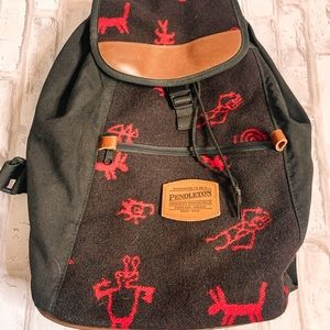 Authentic Pendleton Wool Backpack
